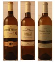 3 Bordeaux Blanc dégustés en 2012