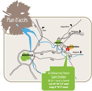 Plan d'accès Dégustation Vignerons Bio