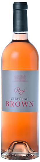 Château Brown Bordeaux Rosé Millésime 2014