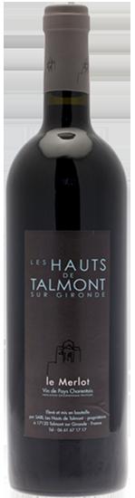 Le Merlot des Hauts de Talmont