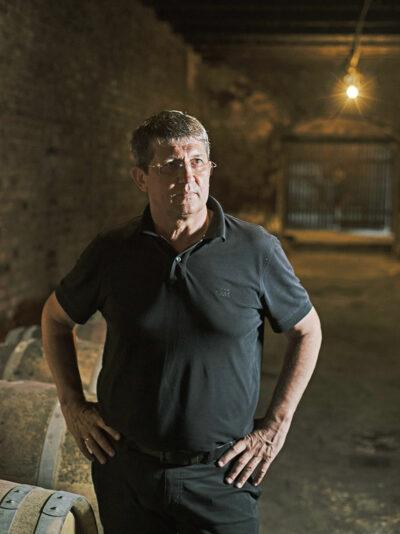 Gheorghe Arpentin, winemaker. Republic of Moldova