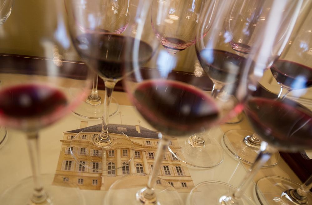 France,Aquitaine,Gironde,Médoc,Margaux,,Château Margaux,.Dégustation Primeurs Bordeaux 2011.